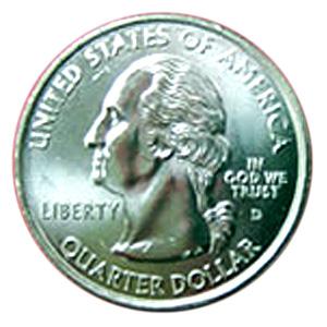 50州25セント硬貨(ごじっしゅうにじゅうごせんとこうか):表