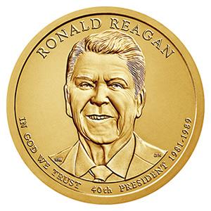 大統領1ドル硬貨(だいとうりょう1どるこうか):表