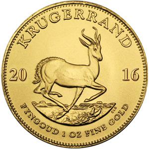 [南アフリカ] クルーガーランド金貨(くるーがーらんどきんか):表