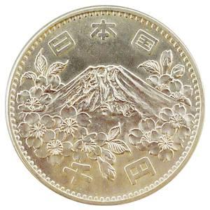 東京オリンピック記念貨幣(とうきょうおりんぴっくきねんかへい):裏
