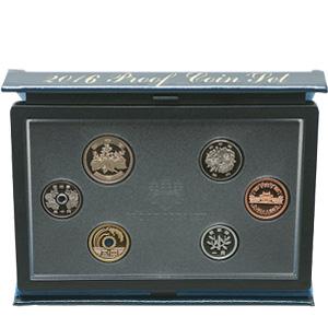 プルーフ貨幣セット(ぷるーふかへいせっと):表