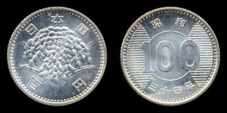 旧百円硬貨